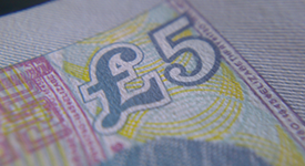 New £5 note polymer