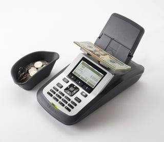Tellermate T-ix cash counter